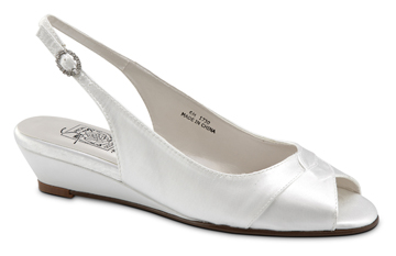 SANDY White Satin Skimmer