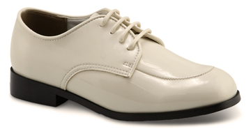 BOY'S OXFORD Boy's Ivory Patent